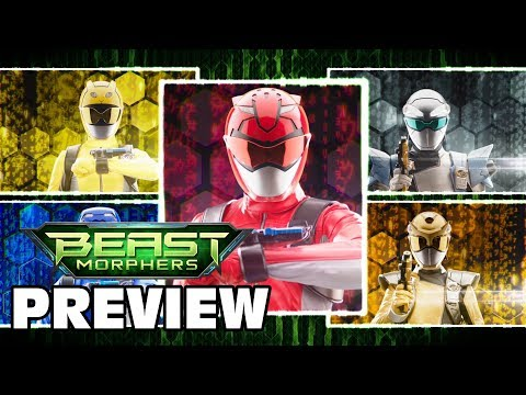 Power Rangers Beast Morphers Episode 10 Preview   Full Team Morph Official First Look