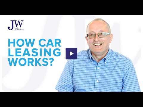 How Car Leasing Works Explained By JW Car Contracts
