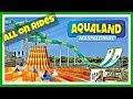 Mejores Toboganes (Water Slides) Aqualand Maspalomas 2018 Gran Canaria | España | Spain