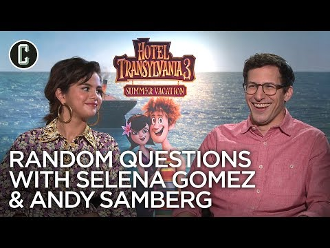 "Watch Selena Gomez and Andy Samberg Play ""Random Questions"""