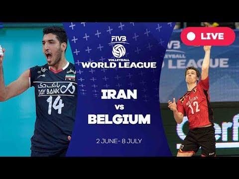 Iran v Belgium - Group 1: 2017 FIVB Volleyball World League