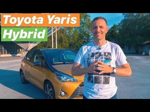 Najmanji pravi Hybrid! - Toyota Yaris - testirao Juraj Šebalj
