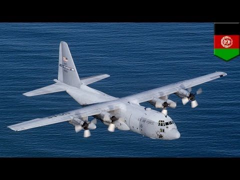U.S. military crash: C-130 transport plane crashes in Afghanistan killing 14 - TomoNews