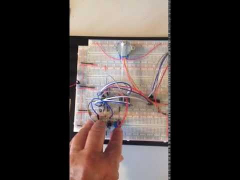 Stepper motor without microprocessor control youtube for Stepping motors and their microprocessor controls
