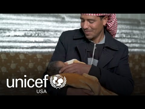 Born a Refugee, Mohammad Is Growing Up Healthy, Thanks to UNICEF