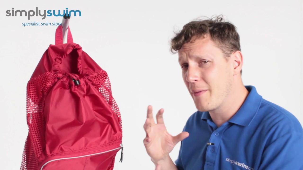 Speedo Deluxe Ventilator Mesh Equipment Bag