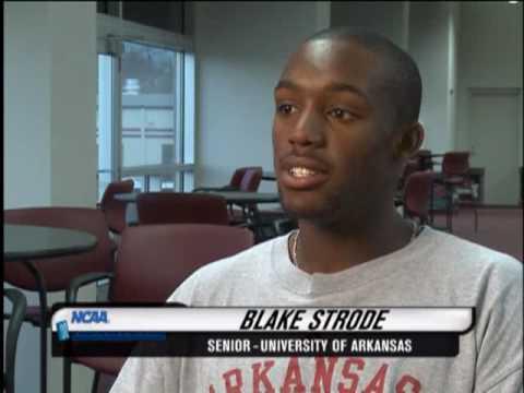 NCAA On Campus - Blake Strode - University of Arkansas Men's Tennis
