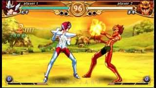 "Saint Seiya Omega Ultimate Cosmos (PsP) Gameplay ""Koga"" 02 (HD)"