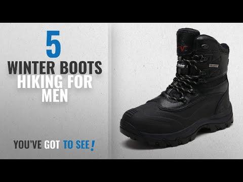 Top 10 Winter Boots Hiking [ Winter 2018 ]: arctiv8 Men's 160443-M Black Insulated Waterproof
