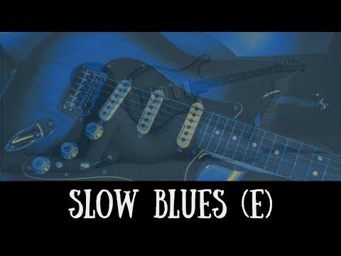 Slow Blues Jam | Sexy Guitar Backing Track (E)