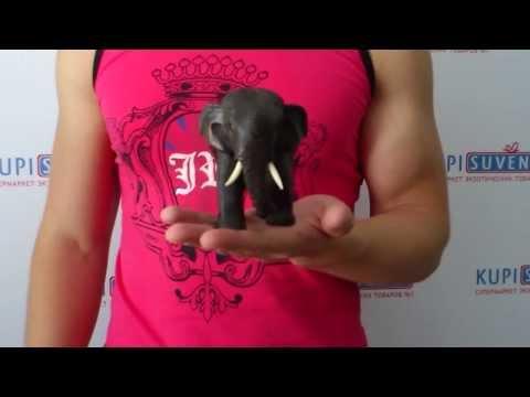 Фигурка декоративная «Тайна чёрного слона»