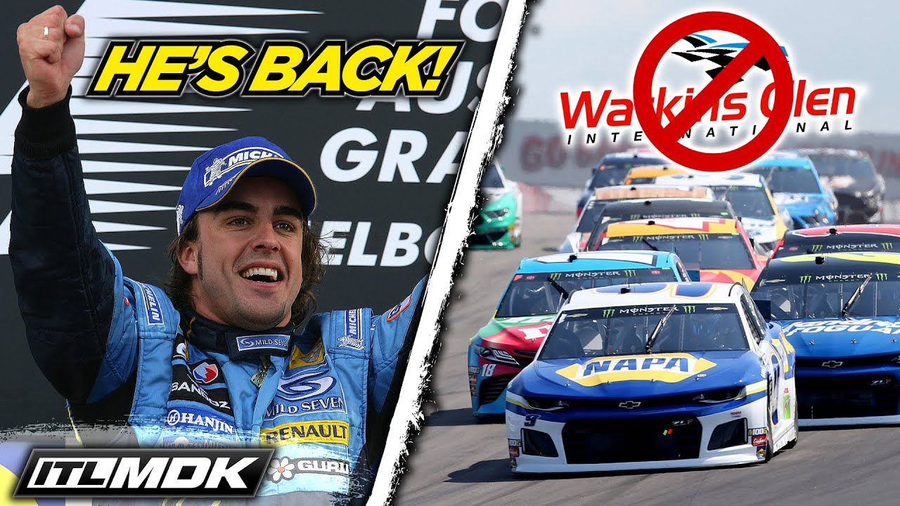 Fernando Alonso Returns To F1, Daytona Road Course Might Replace Watkins Glen | Inside The Lines