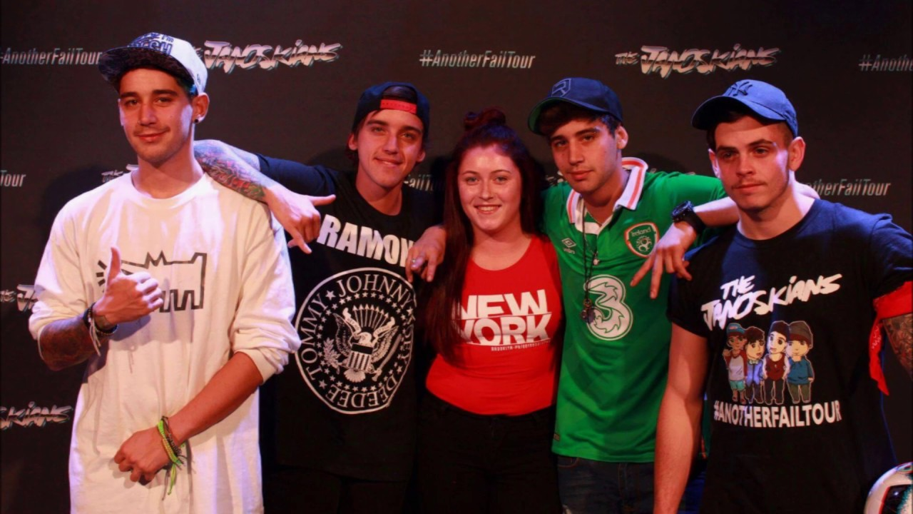 The Janoskians - Another Fail Tour - M&G