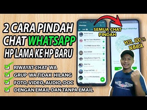 Cara Pindah Akun WhatsApp Ke HP Baru tanpa Hilang Chat dan Kontak.