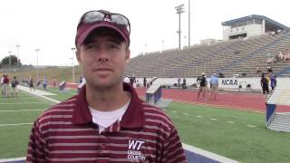 WTAMU Coach Flowers Previews 2015 LSC Outdoor T&F Championship