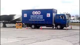 hgv training reversing lgv cat c class 2 dsa test