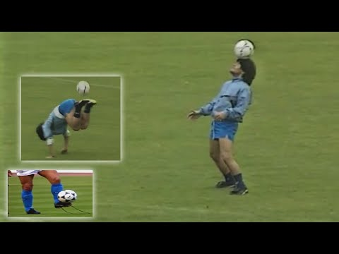 Diego Maradona Amazing Skills in Training