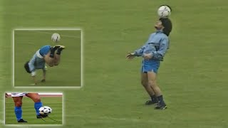 Diego Maradona Amazing Skills in Training