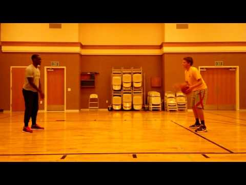 Racketball drill with Paul Peterson