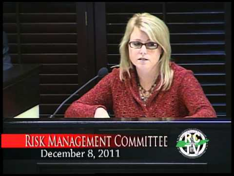 Risk Management Committee - December 8, 2011