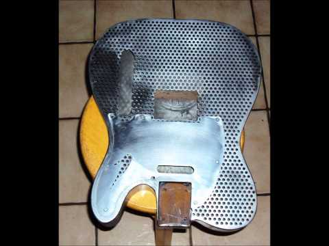 exlusive: My first project how to build a Custom guitar Telecaster steel