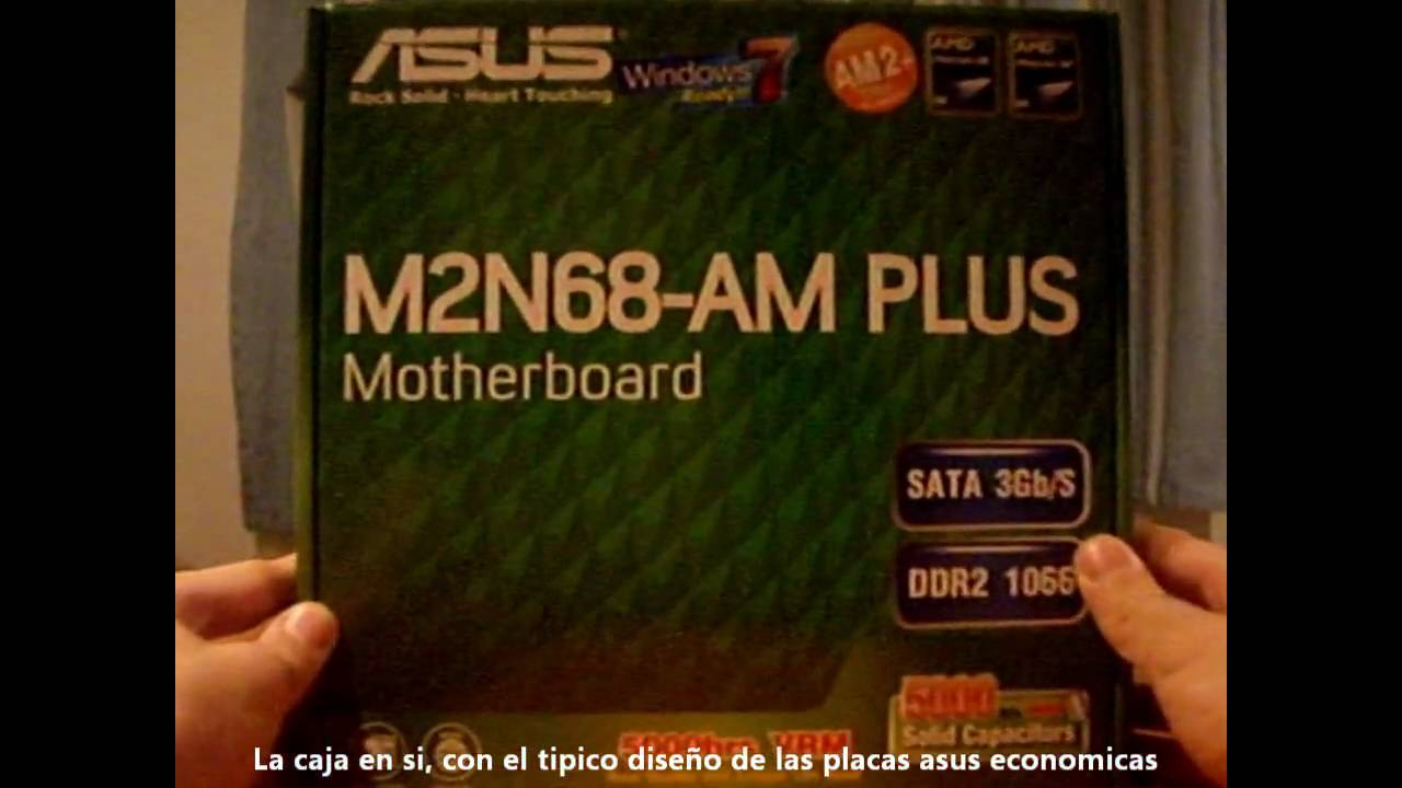 Unboxing Asus M2n68-am Plus