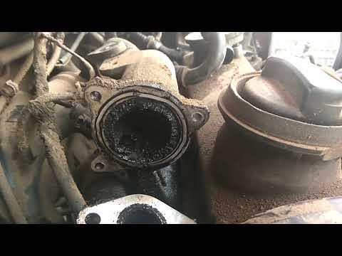 Skoda Octavia 1.9 TDI diesel EGR & INTAKE MANIFOLD cleaning
