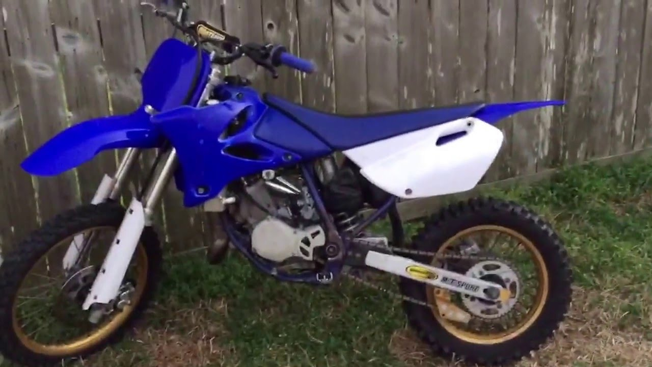 2003 Yamaha Yz85 bored out to a 104cc FOR SALE! (SOLD!!) - YouTube