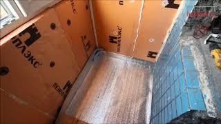 Ремонт лоджии под ключ с крышей в доме серии П 46 – «Балконлайн»