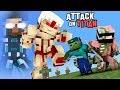 MONSTER SCHOOL : ATTACK ON TITAN (HEROBRINE BECAME TITAN) - COOLEST MINECRAFT ANIMATION