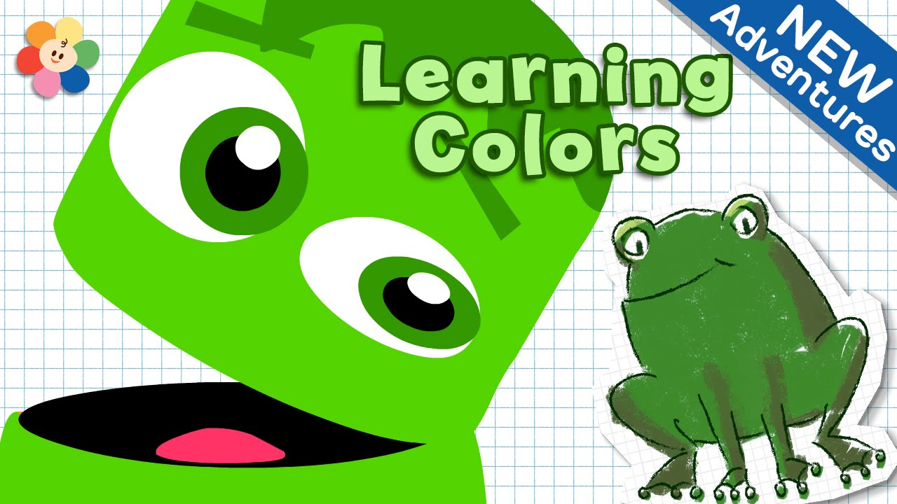 Crayons Color Song for Kids - Green | Color Crew | Learn Colors for ...