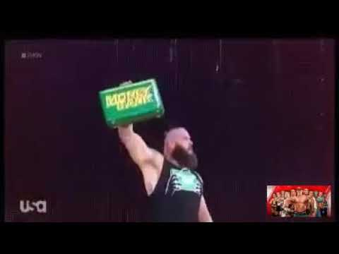 Braun strowman and Kevin Owens vs Finn Balor and Baron Corbin full match : WWE Raw 25/6/2018