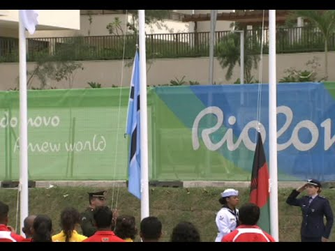 First Flag Raising Ceremony Held in Rio Olympic Village to Welcome Delegations