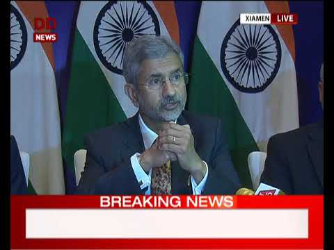 Foreign Secretary holds press conference on PM Modi's meeting with Chinese President
