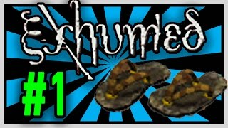 Exhumed/Power Slave - Sandals of Ikumpet [1st Artifact] - PS1 Game/Gamplay