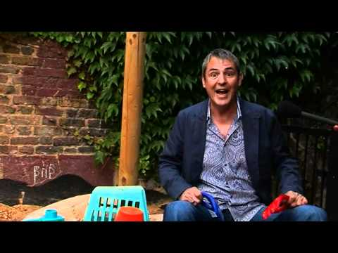 Neil Morrissey promotes Colgate's Keeping Britain smiling campaign in aid of Barnardo's.