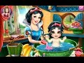 New Snow White Baby Wash - Cartoon Movie Game For Kids in English 2015 Snow White