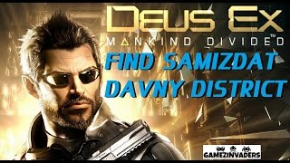 This is the Find Samizdat in Davny District side mission These missions need to be done before meeting up with Miller at the Helipad or they will disappear