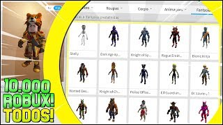 Yes! I BOUGHT ALL THE ANTHRO from ROBLOX! I SPENT 10,000 ROBUX!! 😍-(I regretted it?) 😡