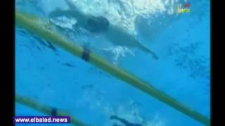شاهد.. ريو 2016.. أحمد أكرم يودع منافسات سباحة 1500 متر حرة