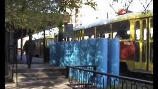 Volgograd speed tram 2008 Fragment
