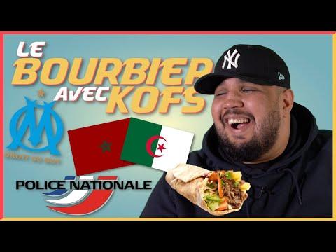 Youtube: Kofs dans« Le Bourbier»: Algérie/Maroc , l'OM, trahison, poukave, nourriture, femme