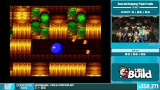 Sonic the Hedgehog: Triple Trouble by bertin in 22:42 - Summer Games Done Quick 2015 - Part 78