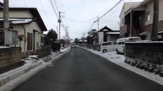 山形市長町〜七浦〜出羽郵便局付近