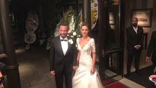 Bensu Soral ile Hakan Baş düğün röportajı
