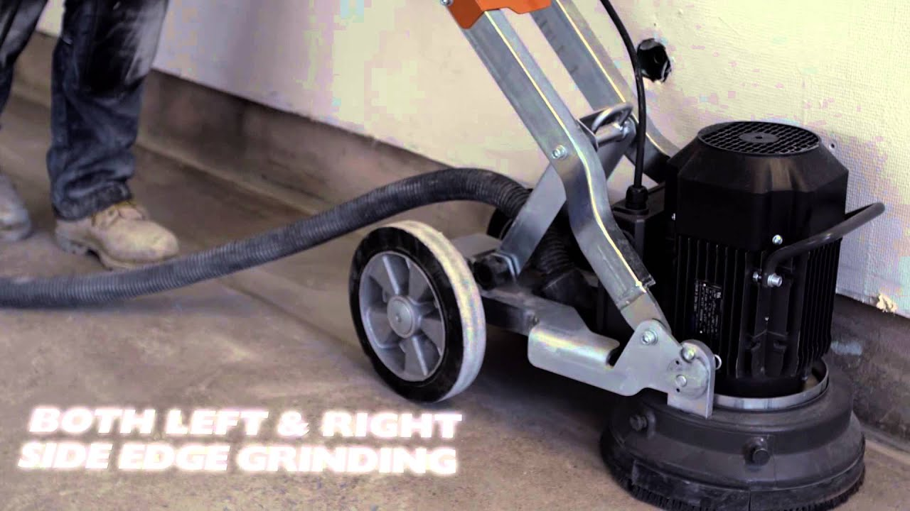 the new compact floor grinders from husqvarna - youtube