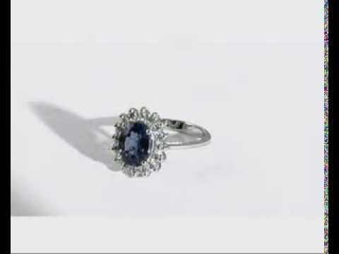 A replice of Princess Diana Diamond Ring