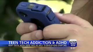 Latest Health News on Teens and Tech and ADHD
