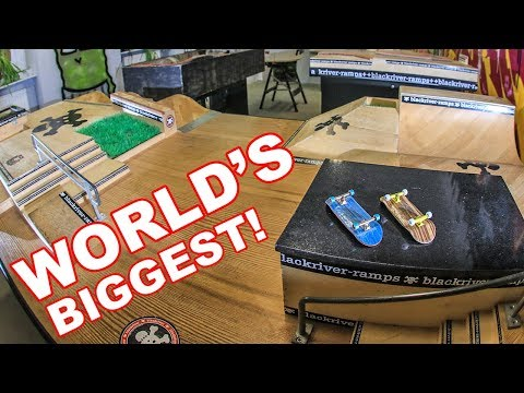 WORLD'S BIGGEST FINGERBOARD STORE!!