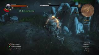 """The Witcher 3: Wild Hunt """"White Wolf V. Eredin""""(Death March! NG+ Campaign)"""